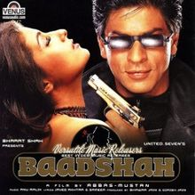 Baadshah 1999 Audio CD.jpg