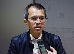 Hasil gambar untuk Pengamat politik Universitas Al Azhar Jakarta, Ujang Komaruddin