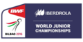 2016 BWF World Junior Championship Logo.png