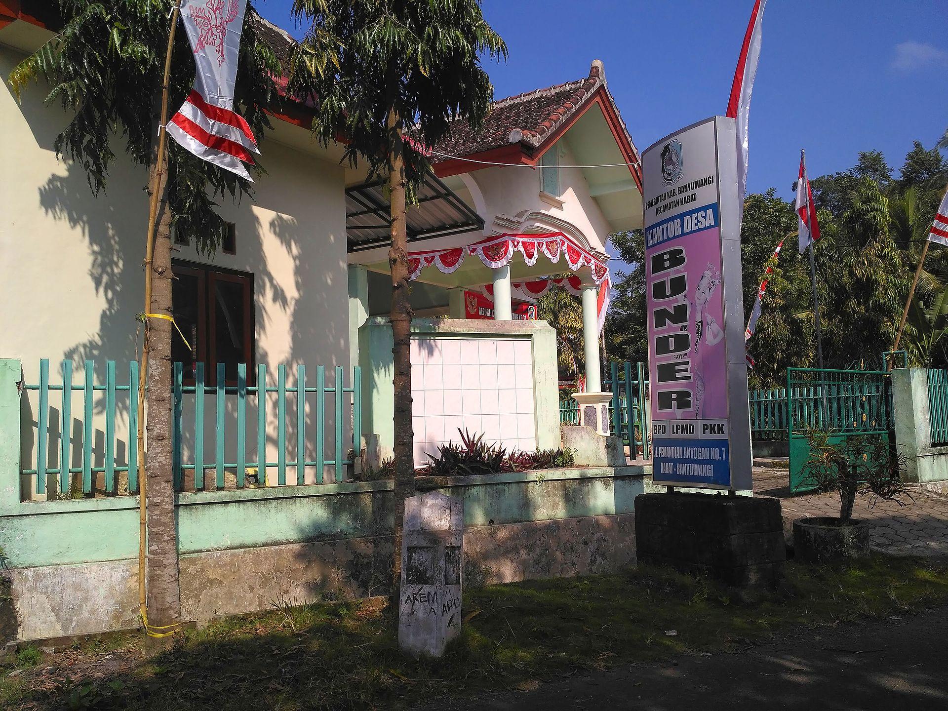 Bunder, Kabat, Banyuwangi - Wikipedia bahasa Indonesia ...