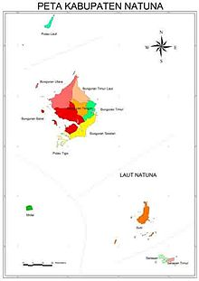 Kabupaten Natuna Wikipedia Bahasa Indonesia Ensiklopedia Bebas
