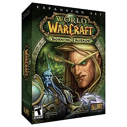 """World of Warcraft: The Burning Crusade"" cover art"