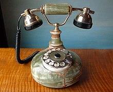 Telepon - Wikipedia bahasa Indonesia, ensiklopedia bebas