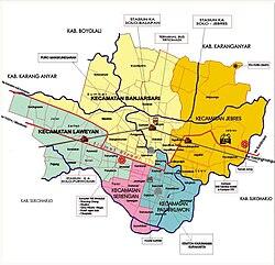 Kota Surakarta - Wikipedia bahasa Indonesia, ensiklopedia bebas