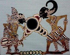 Pertarungan terakhir dalam Baratayuda antara Duryudana melawan Bima