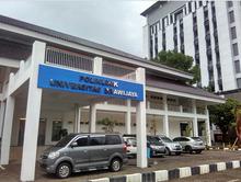 Gedung Poliklinik UB tampak depan