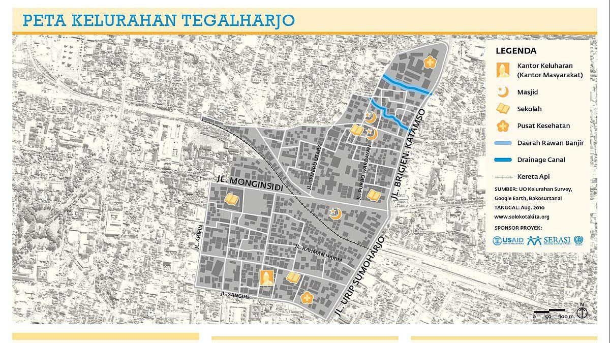Tegalharjo, Jebres, Surakarta - Wikipedia bahasa Indonesia ...