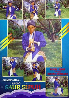 ... , ... 1980 yang menggambarkan Ferry Fadly sebagai Prabu Brama Kumbara