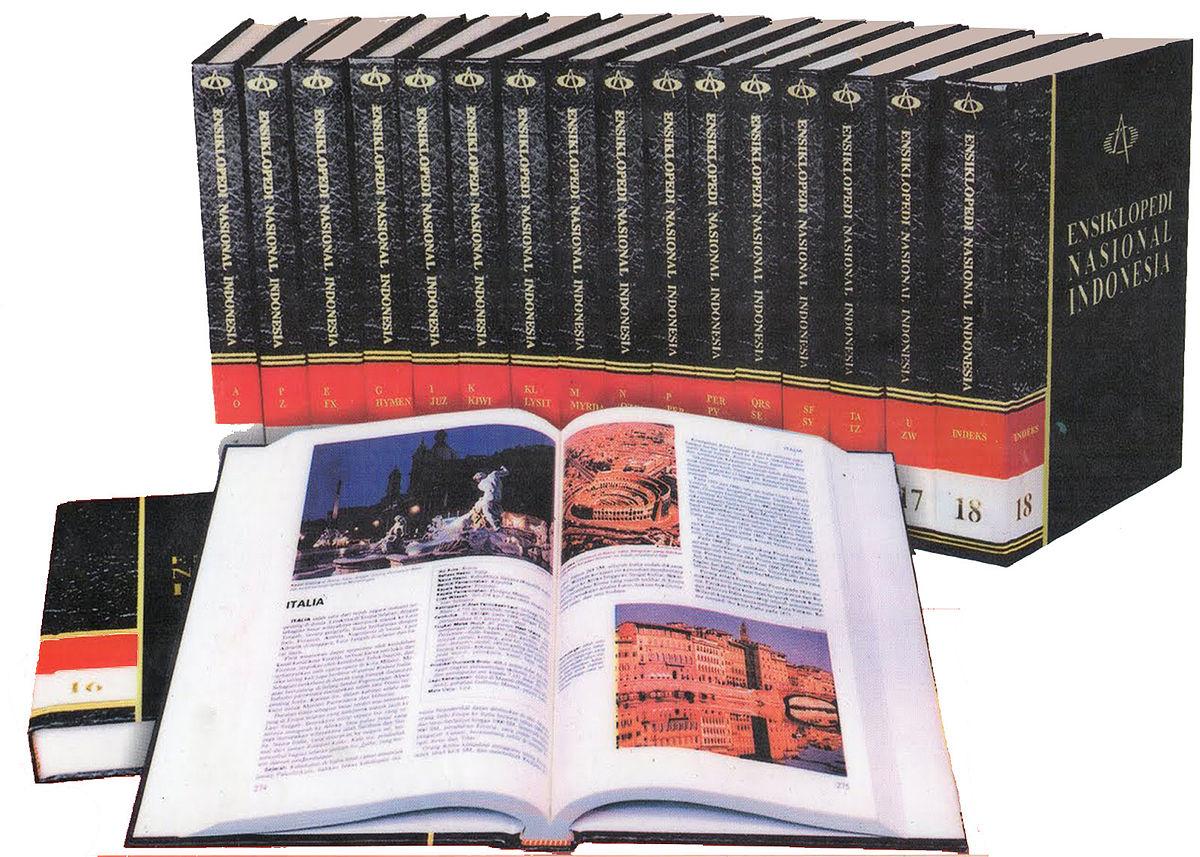 Ensiklopedi Nasional Indonesia  Wikipedia bahasa Indonesia, ensiklopedia bebas