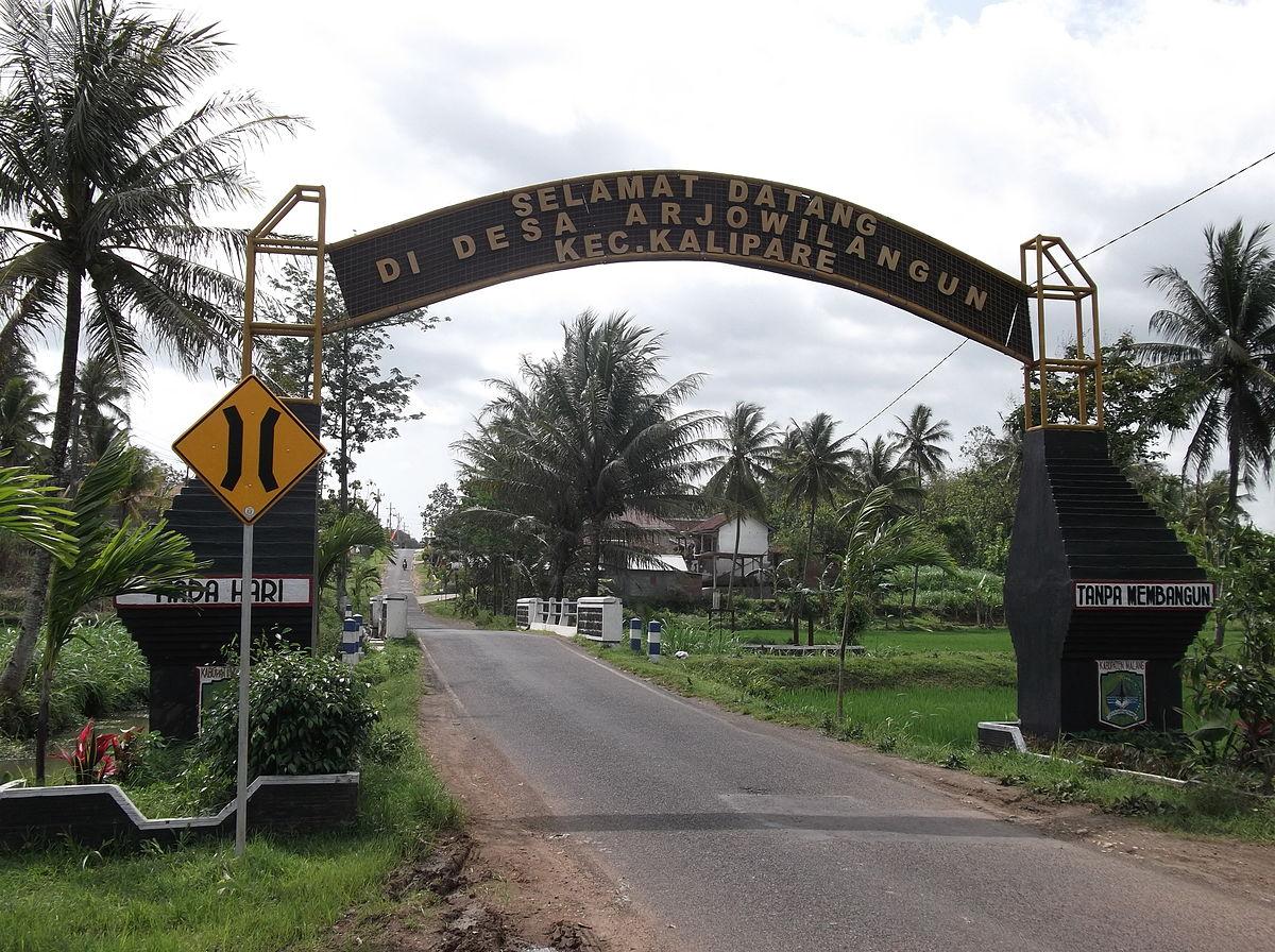 Arjowilangun, Kalipare, Malang - Wikipedia bahasa ...