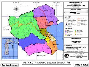 Kota Palopo - Wikipedia bahasa Indonesia, ensiklopedia bebas