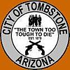 Lambang resmi City of Tombstone, Arizona