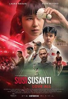 Susi Susanti Love All 2019 Indonesia Sim F. Laura Basuki Dion Wiyoko Jenny Chang  Biography, Drama, Sport