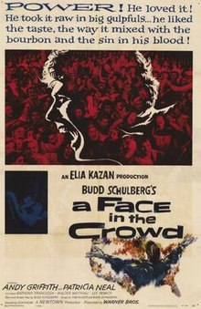 Original poster for the filme A Face in the Crowd.jpg
