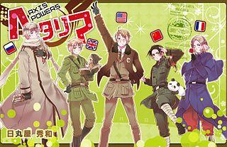 Blok Sekutu Karakter Utama Dalam Serial Dari Kiri Ke Kanan Rusia Inggris Amerika Tiongkok Dan Perancis