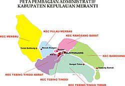 Kabupaten Kepulauan Meranti Wikipedia Bahasa Indonesia Ensiklopedia Bebas