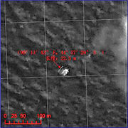 Chinese satellite image released on 22 March of 44°57'30 S 90°13'40 E