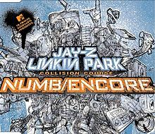 Jay-Z and Linkin Park - Numb Encore CD cover.jpg