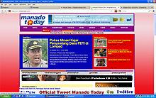 Manado Today - Wikipedia bahasa Indonesia, ensiklopedia bebas