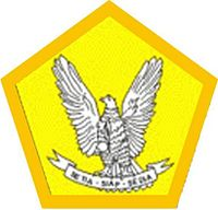 Lambang Pramuka Garuda untuk golongan Penegak