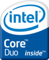 Intel Core Duo brand logo