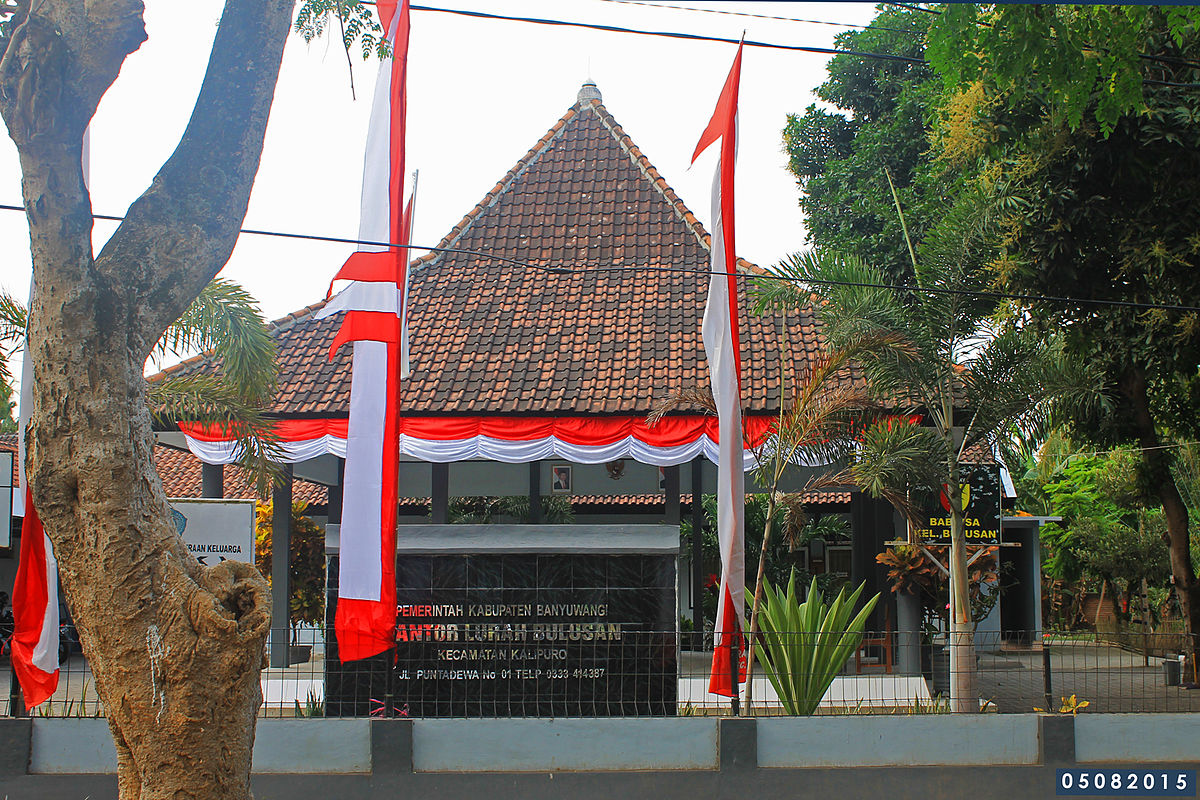 Bulusan, Kalipuro, Banyuwangi - Wikipedia bahasa Indonesia ...