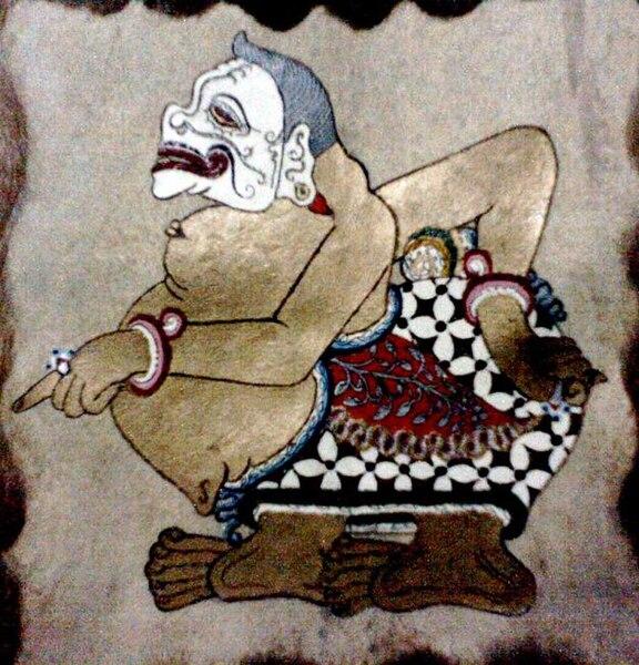 Semar Wayang Kulit (sumber: wikipedia)