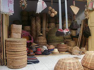 Contoh Kerajinan Dari Bambu Dan Rotan