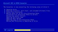 Program pengonversi FAT16 menjadi FAT32 dalam sistem operasi Windows ...