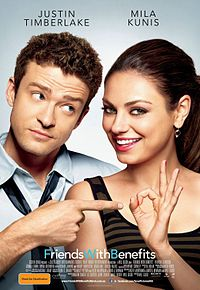 Friends with Benefits plagat