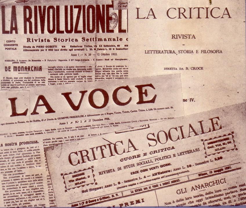 riviste letterarie italiane del novecento wikipedia