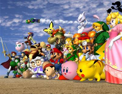 super smash bros melee wikipedia