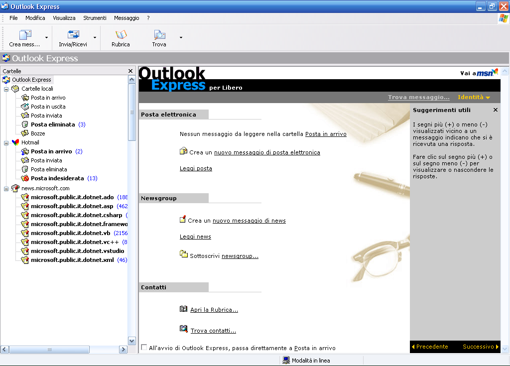 posta outlook express