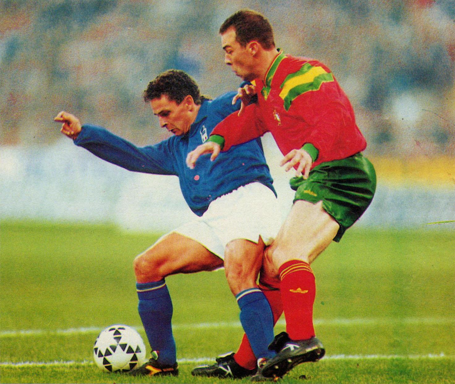 File italia vs portogallo milano 1993 roberto baggio - Una porta nel cielo roberto baggio ...
