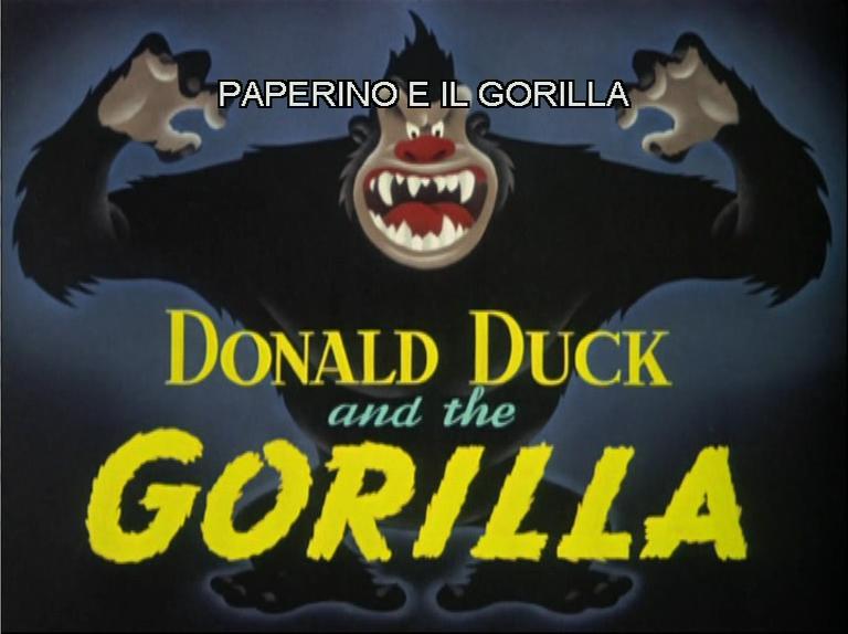 Paperino e il gorilla wikipedia