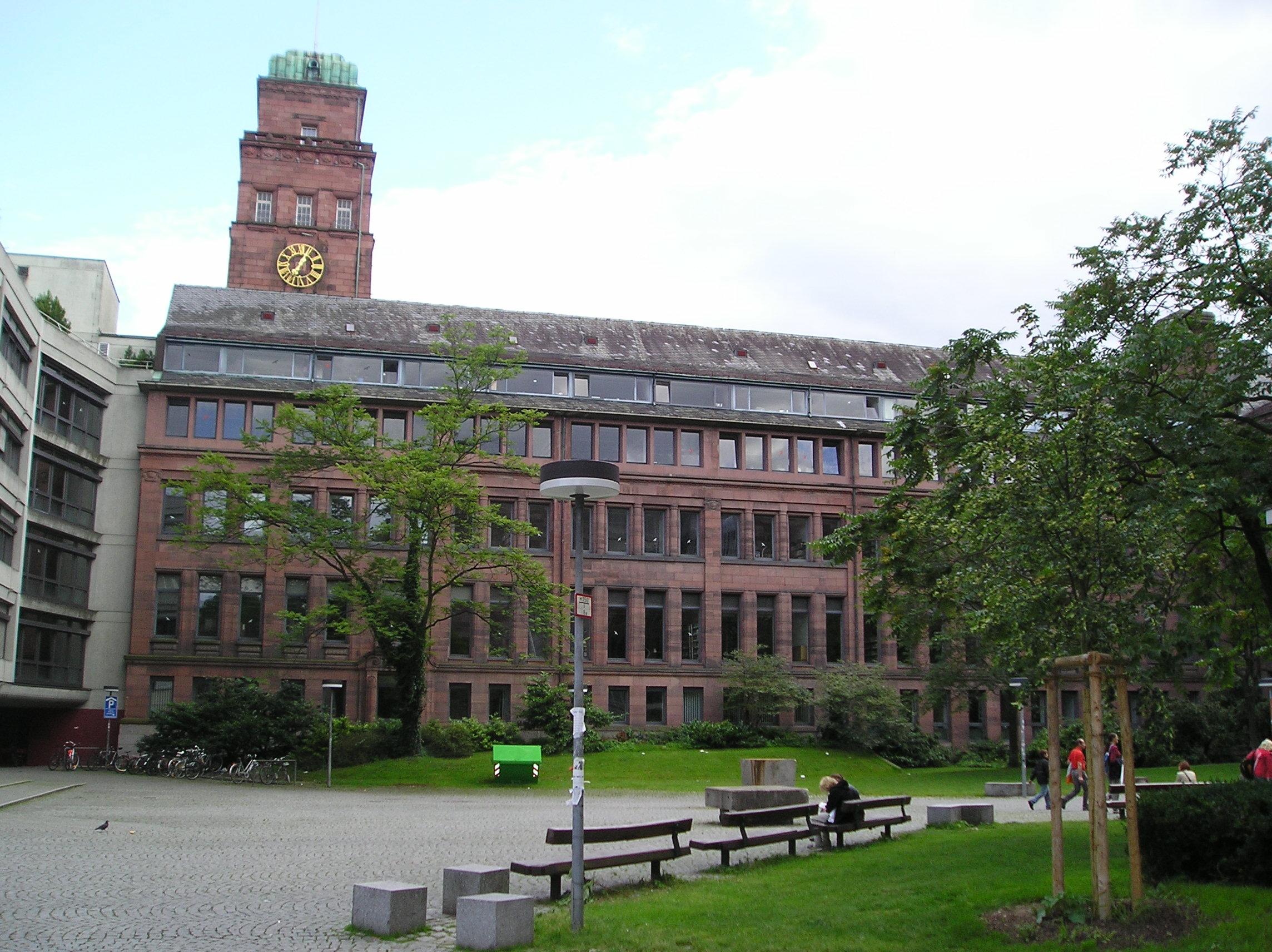 La Nuova Universit di Friburgo edificata secondo il piano generale di O E Schweizer del 1959