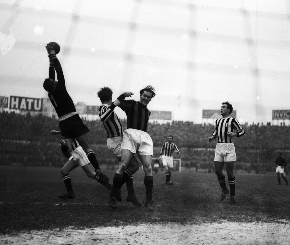 File Juventus vs Milan 1952 Giovanni Viola e Nils Liedholm