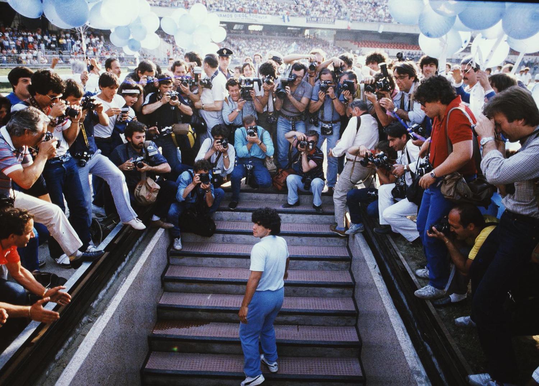 Esordio di Maradona al San Paolo