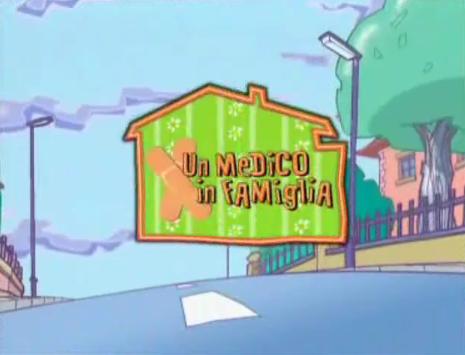 Un medico in famiglia cartoon video mondoteen
