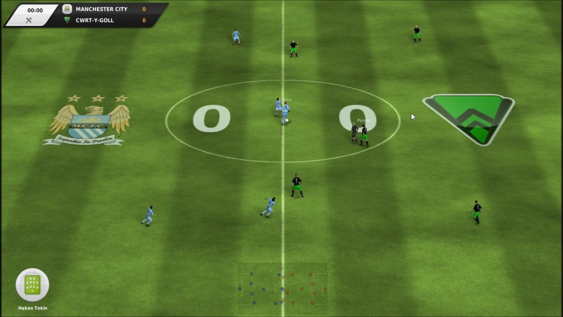 Скриншот FIFA Manager 12.