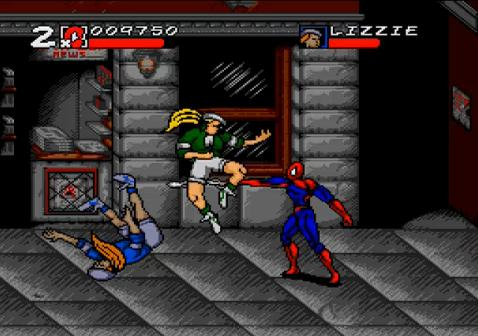 Spider-Man Maximum Carnage Gameplay