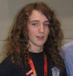 Breandan Vallance, uno dei campioni del mondo.