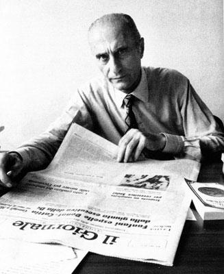 """Montanelli all'epoca del """"Giornale"""" (anni '70)"""