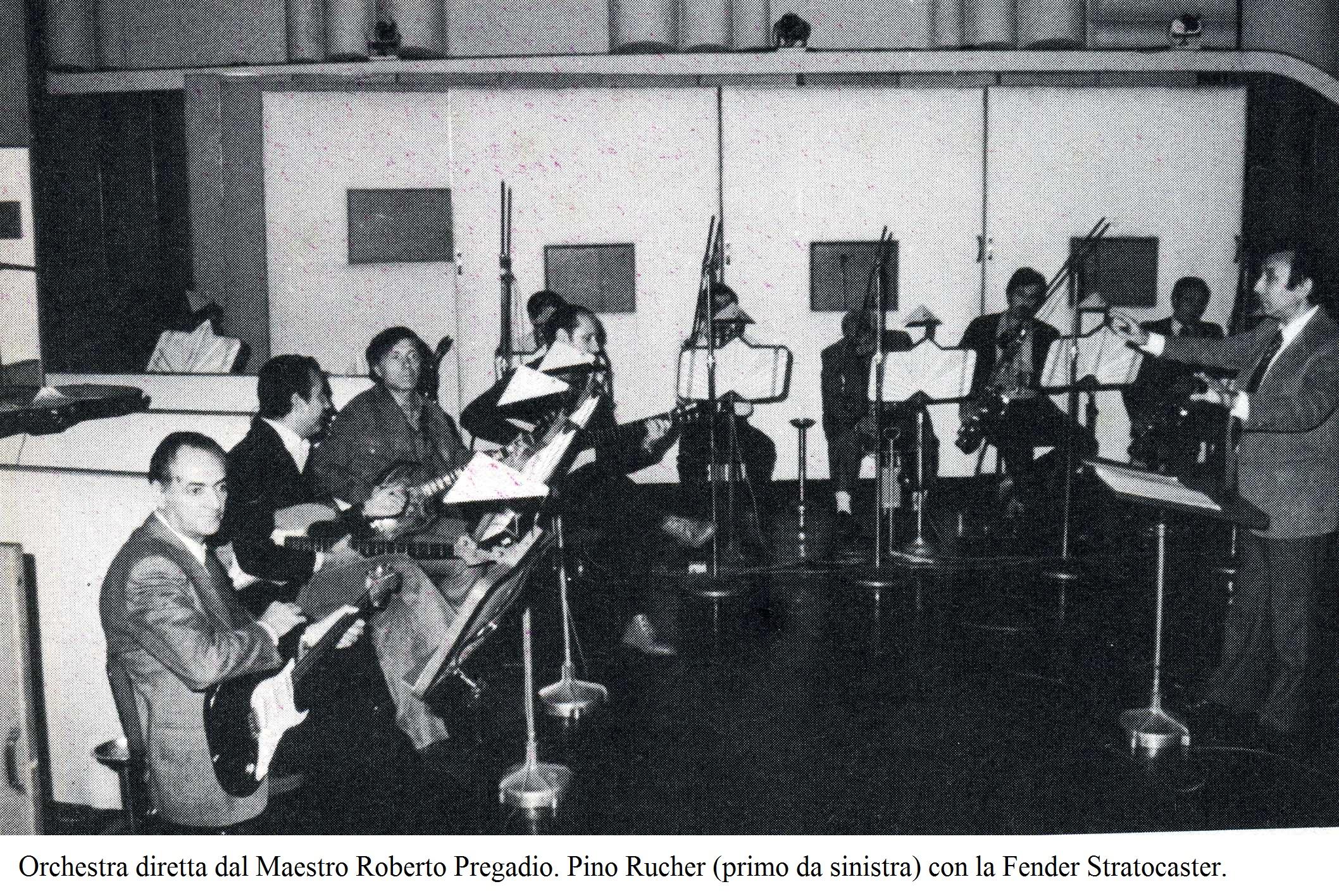 Corso Di Chitarra Di Franco Cerri E Mario Gangi Orchestra_RAI_diretta_dal_Maestro_Roberto_Pregadio