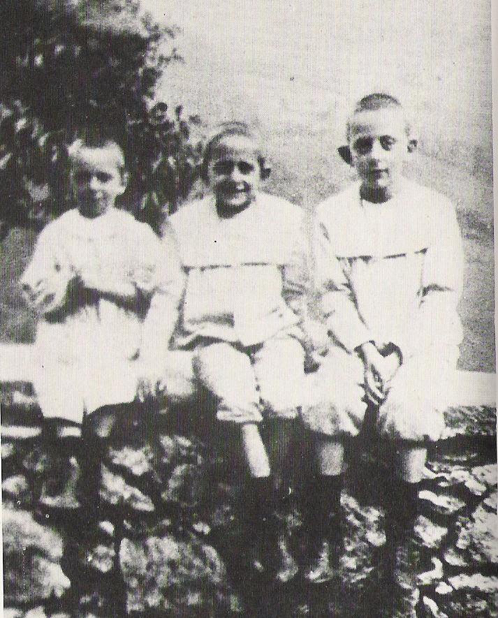 De tre brødrene Montini, f.v. Francesco, Giovanni Battista og Ludovico