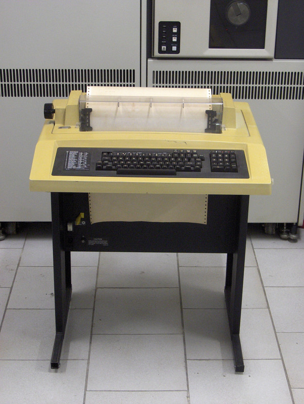 DEC Teletype Machine