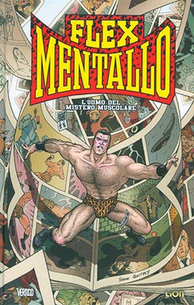 Copertina del volume dedicato alla miniserie di Flex Mentallo