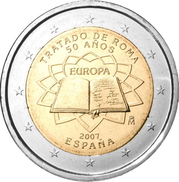 €2 Commemorative Coin Spain 2007 TOR.png