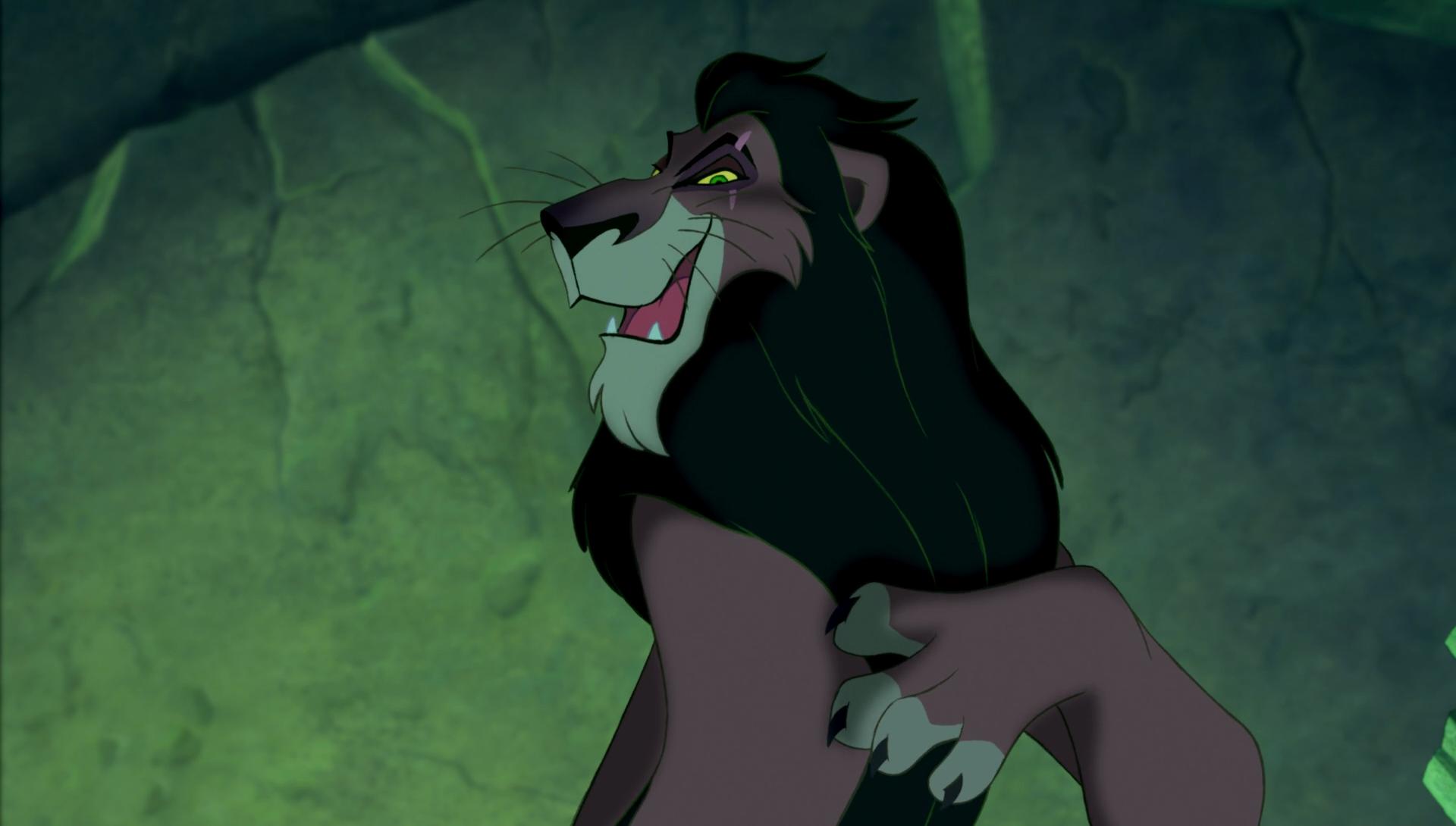 Risultati immagini per scar re leone