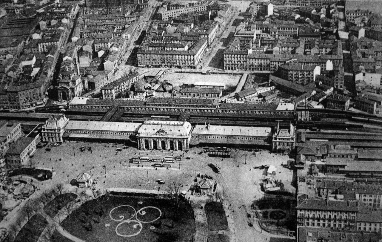 Stazione Di Milano Centrale 1864 Wikipedia